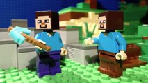 Lego Minecraft: Gold, Baby, Gold (stop motion animation / brickfilm) comedy film