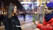 Kissing Prank Roses for Kisses Funniest Kissing Pranks Sexy Pranks