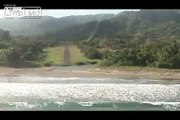 Cockpit-cam approach and landing at Tambor, Costa Rica