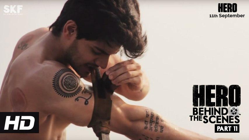 Hero   Behind The Scenes - Part 11   Sooraj Pancholi - An Action Hero