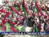 """Libye:  la """"libération"""" du pays proclamée trois jours après la mort de Kadhafi"""