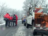 Neige et verglas : plus que cinq départements en alerte orange