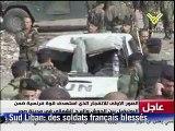 Liban: cinq Casques bleus français et un civil blessés lors d'une attaque dans le sud