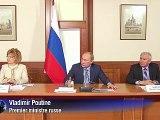 Poutine rejette les exigences des opposants, pas de révision des élections