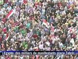 Egypte: Moubarak échappe à la peine capitale, des milliers de manifestants au Caire