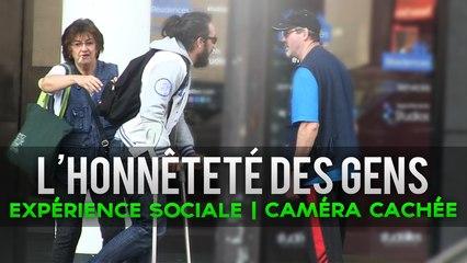 L'honnêteté des gens - Expérience sociale caméra cachée