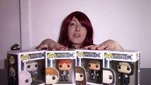 Funko pop vinyl figures (Harry Potter Part 2) - Ron Weasley, Hermione Granger, Snape, Voldemort