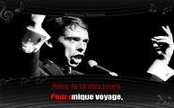 Karaoké Jacques Brel - Le plat pays