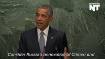 Obama: Russia Could Do To Any Country What They Have Done To Ukraine
