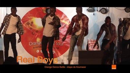 Orange Battle Dance - Etape Koumassi