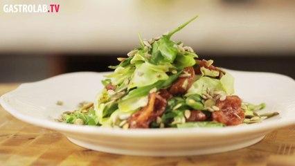 Avocado and Tomato Confit Salad Recipe