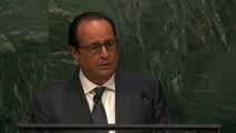 Intervention devant l'Assemblée générale de l'Organisation des Nations Unies