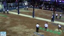 Finale tir rapide en double, Sport Boules Mondial Seniors, Rijeka 2015