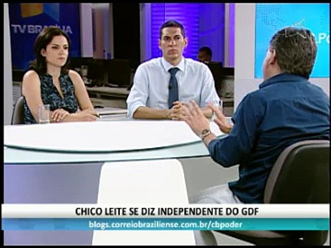 BLOCO 1 - CB.PODER ENTREVISTA O DEPUTADO CHICO LEITE