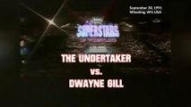 1991-09-30 WWF Superstars Of Wrestling - The Undertaker VS Dwayne Gill (Gillberg)