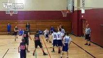 8th Grade Baller Gets Lucky Twice from Full Court