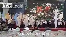 Chinese school hymn suspciousily similar to a certain west european tune