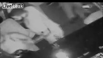 LiveLeak.com - Thug Throws Glass In Bartenders Face