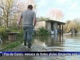 Les cours d'eau du Pas-de-Calais stabilisés, maintien de la vigilance orange