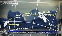 Sur les traces de Shackleton dans l'enfer blanc de l'Antarctique