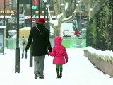 Intempéries: alerte à la neige maintenue en Ile-de-France et Pays de Loire