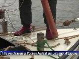 Antarctique: six hommes dans un fragile canot sur les traces de Shackleton