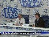 """Russie: """"aucune stratégie"""" pour lutter contre le sida"""
