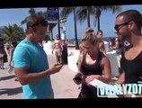 Il mesure les fesses des filles sur la plage