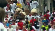 Blessé grievement par un taureau fou à Pampelune