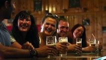 Une pub compare de la marijuana à de la bière
