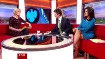 """Susanna Reid, la journaliste britannique sexy très """"Basic Instinct"""""""