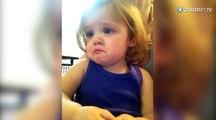 Un bébé ému aux larmes!