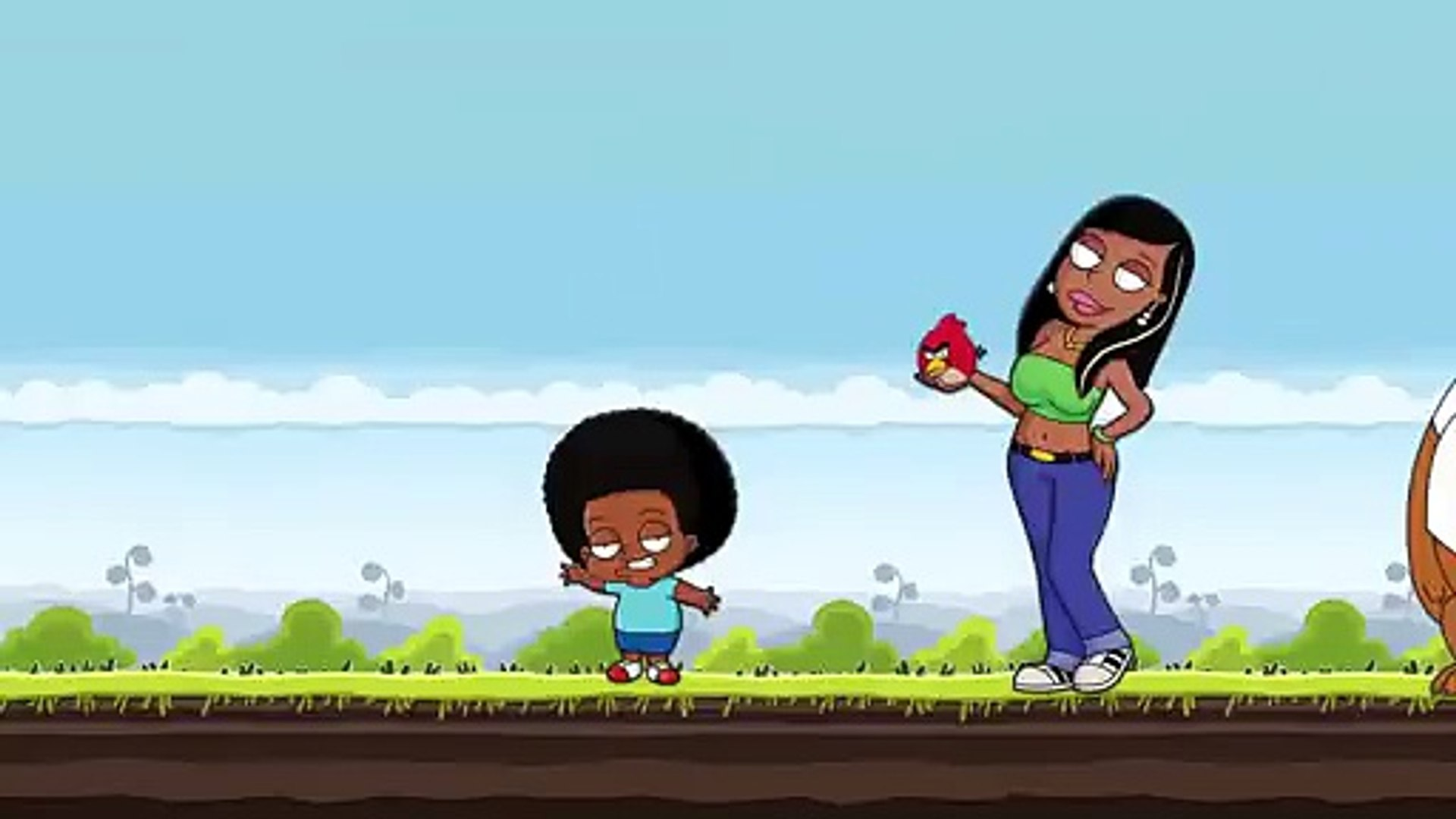 Angry Cleveland Show(Angry Birds meet the Cleveland Show)