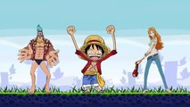 Angry One Piece(angry birds vs one piece)parody mashup video