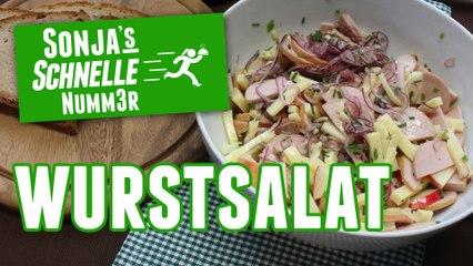 Wurstsalat - Rezept (Sonja's Schnelle Nummer #80)