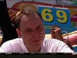 Joey Chestnut wins Nathan's Hot Dog Eating Contest for 7th time