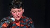 Valérie Rouzeau - Lecture et entretien avec André Velter - Marché de la poésie 2015 -  Bordeaux