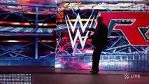Brock Lesnar confrontsThe Under Taker wwe Raw