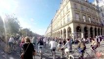 Paris sans voitures, de Saint Paul à l'Arc de Triomphe - 2015