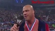 John Cena and Kurt Angle Rap off 7-10-2003-Smackdown WWE Wrestling On Fantastic Videos