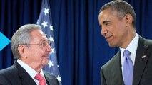 Raúl Castro and Barack Obama All Smiles Before Talks on US Trade Embargo