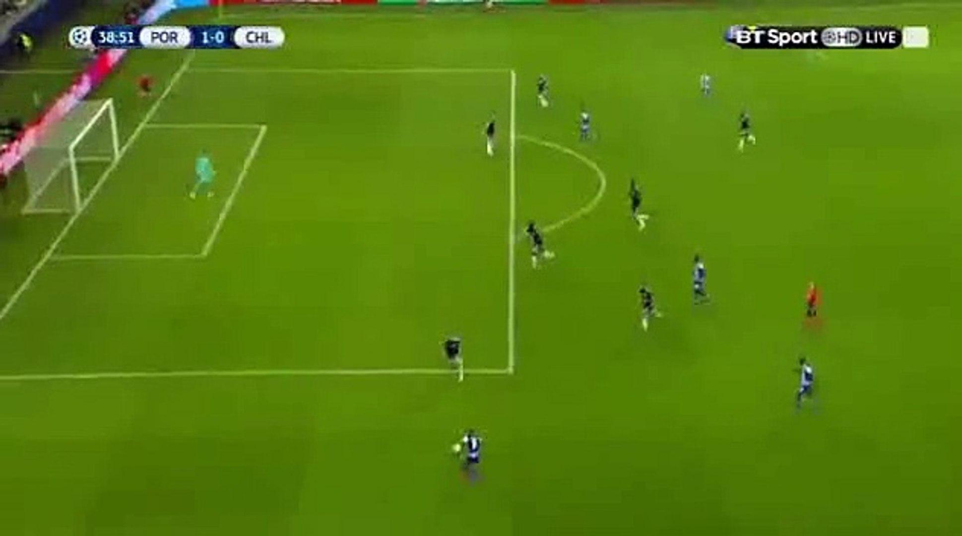 Andre Andre Goal 1-0 Porto vs Chelsea