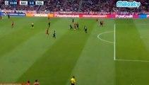 3rd Goal Robert Lewandowski 5-0 . Fc Bayern Munich - Gnk Dinamo Zagreb . 29-09-2015