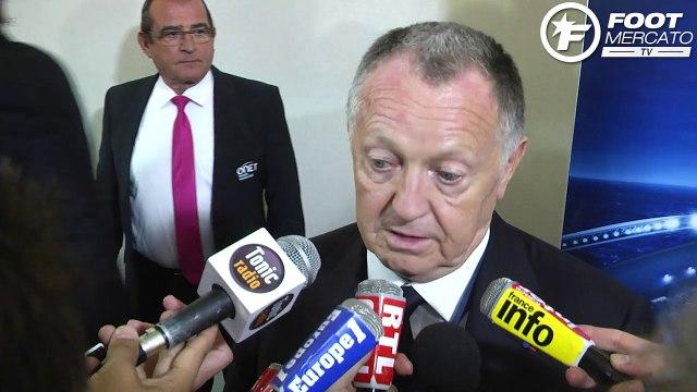 Jean-Michel Aulas réagit à la polémique Lacazette