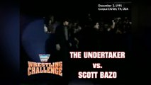 1991-12-02 WWF Wrestling Challenge - The Undertaker VS Scott Bazo