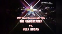 1991-12-03 WWF This Tuesday In Texas - WWF World Heavyweight Title - The Undertaker VS Hulk Hogan