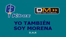 Karaoke Box - Yo También Soy Morena (In The Style Of / Al Estilo De : Aida Cuevas) - (Karaoke)