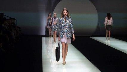Emporio Armani 2016 Spring Summer | Milan Fashion Show | C Fashion