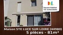 A vendre - Maison/villa - STE LUCE SUR LOIRE (44980) - 5 pièces - 81m²