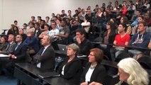 Rentrée solennelle au campus universitaire de la Plaine des Îles à Auxerre